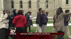 Michigan Muslims advocate at Capitol [Video]