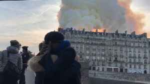 The World Reacts to Devastating Fire at Notre Dame [Video]