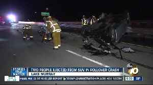 2 people ejected from SUV in rollover crash on SR-125 [Video]