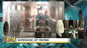 Trent speaks to researcher about new supersonic jet design [Video]