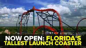 Florida's tallest launch coaster 'Tigris' opens at Busch Gardens | Taste and See Tampa Bay [Video]