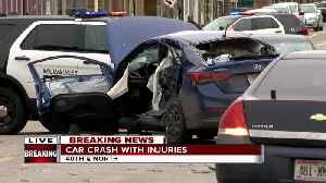 Serious crash near 40th and North  involving bus and car [Video]
