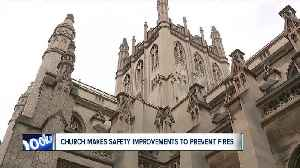 After new safety improvements, Trinity Cathedral leaders reflect on Notre Dame fire [Video]