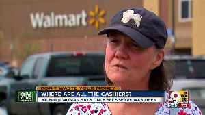 Why aren't there human cashiers at Walmart? [Video]