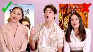 'To All the Boys I've Loved Before' Cast Test Their Rom-Com Knowledge [Video]