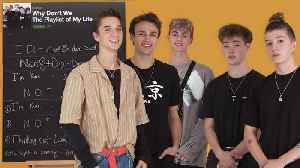Why Don't We Create the Playlist to Their Lives [Video]