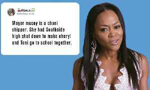 Riverdale's Robin Givens Reacts to Riverdale Fan Theories [Video]