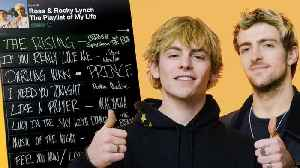 Ross and Rocky Lynch Create The Playlist of Their Lives [Video]