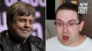 Tearful 'Star Wars' superfan shuts down the haters with Mark Hamill shoutout [Video]