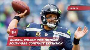 News video: QB Russell Wilson Signs A Massive Money Making Deal