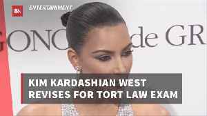Kim Kardashian Is Serious About Law School [Video]