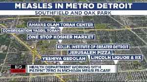 Local doctor, Rabbi work together to track down 'patient zero' in measles outbreak [Video]