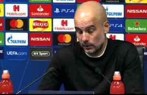 Guardiola says City suffered a 'cruel' exit from Champions League [Video]