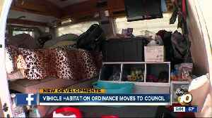 Vehicle Habitation ordinance moves to City Council [Video]