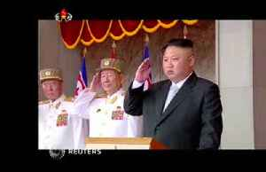 North Korea oversees test of new weapon -KCNA [Video]