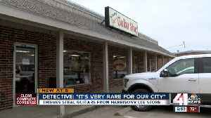 'Irreplaceable' vintage guitars stolen from Harrisonville store [Video]