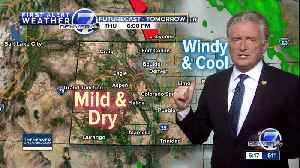 Warmer through Saturday, cool and wet on Easter [Video]