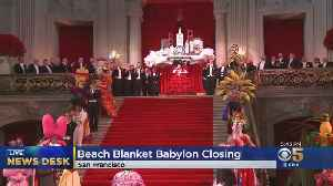 News video: Beach Blanket Babylon, San Francisco's Famed Musical Revue, To End This Year