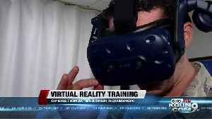 Weather Airmen training with Virtual Reality [Video]