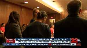 Woman accused in newborn killing appeared in court [Video]