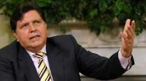 News video: Peru's Former President Dies From Self-Inflicted Wound
