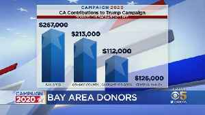 Bay Area Tops California Regions Donating To Trump 2020 Campaign [Video]