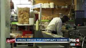 Strong demand for hospitality workers [Video]