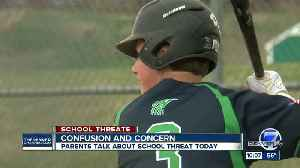 Confusion and concern: ThunderRidge High School parents talk about school threat across the Front Range [Video]
