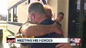 Hernando County man meets heroes who saved him from fiery wreck [Video]