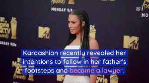 Kim K Follows Her Fathers Goals [Video]