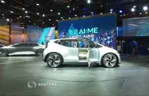 Audi releases AI:ME electric self-drive concept at Shanghai Auto Show [Video]