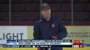 Condors preparing for first Calder Cup Playoff appearance [Video]