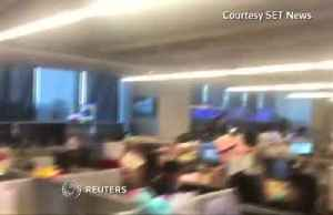 Magnitude 6.1 quake hits newsroom in Taiwan [Video]