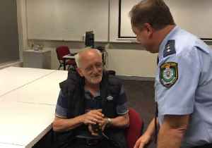 News video: Sydney Police Reunite Homeless Man With Pet Rat