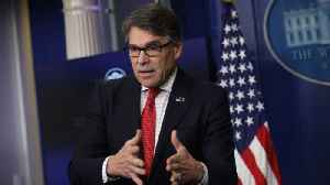 News video: Energy Dept. Denies Rick Perry Is Stepping Down As Secretary