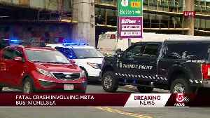 Person struck, killed by MBTA bus [Video]