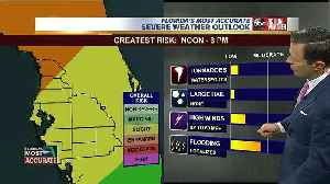 Stormy Friday: Severe weather possible in Tampa Bay area on Friday [Video]