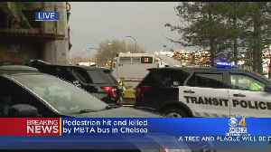 MBTA Bus Hits, Kills Woman In Chelsea, Tobin Bridge On Ramp Closed [Video]