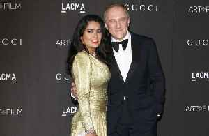 Salma Hayek 'proud' of husband after €100m Notre-Dame pledge [Video]