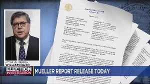 Redacted Version Of Mueller Report Expected Thursday [Video]