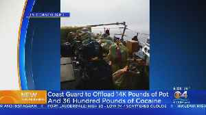 Coast Guard To Offload More Than Eight Tons Of Drugs At Port Everglades [Video]
