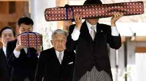 Japan's Emperor Performs Shinto Ritual As Part Of His Abdication [Video]
