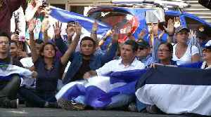 Nicaragua protests: One year anniversary march halted [Video]