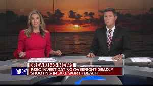 Man shot dead in Lake Worth Beach Wednesday night [Video]