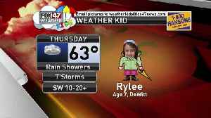 Weather Kid - Rylee - 4/18/19 [Video]