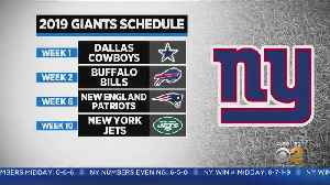 Jets And Giants Schedules Announced [Video]