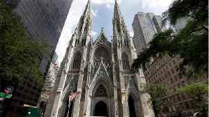 Man Apprehended After Walking Into New York Cathedral With Gas Cans & Lighters [Video]