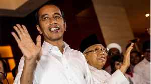 Indonesia President Widodo Declares Victory [Video]