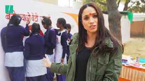New Video Of Meghan Markle In India Before Marriage [Video]