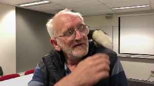 A homeless man and his pet rat have been reunited [Video]